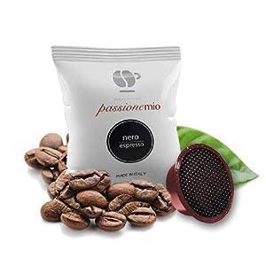 Lollo Caffè 100 Capsule Caffè, Passionemio Nero, Compatibili a Modo Mio - 1000 gr