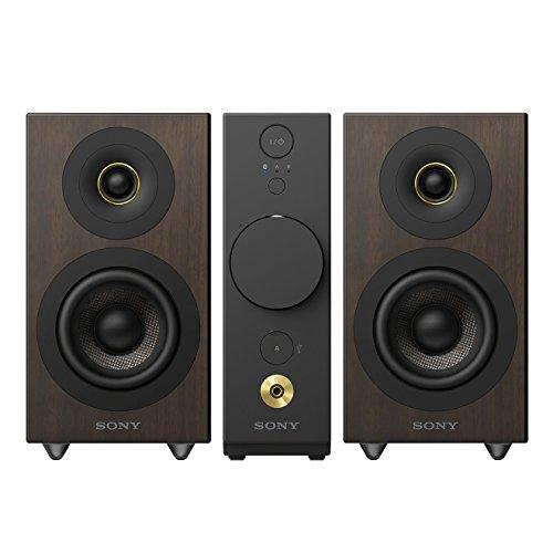 Sony CAS1B.CEL - Sistema de audio compacto de alta resolución, amplificador para auriculares, altavoces independientes