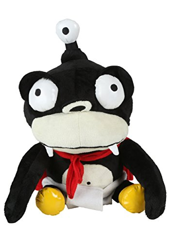 Futurama - Nibbler Purse with zipper Plush - 27cm 11""