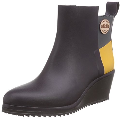 Nokian Footwear Julia Lundsten - Gummistiefel -Ankle Wedge- (Originals) [AW132] Schwarzbeere