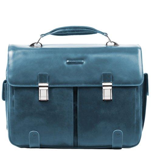 Piquadro Sac à dos, Cartella Blue Square, Bleu - bleu, CA1068B2/BLU2 Avio