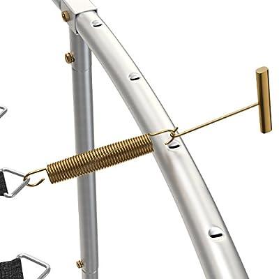 Trampolin Federspanner | ideale Hilfe zum Einhängen der Sprungfedern in Ihr Gartentrampolin | Federhaken für Zugfedern von Ampel 24
