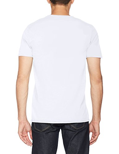 SELECTED HOMME Herren T-Shirt Shnnewmerce Ss O-Neck Tee Noos Weiß (Bright White)