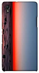 Prominent multicolor printed protective REBEL mobile back cover for Sony Xperia Z1 C6902/L39h D.No.N-L-10908-S39