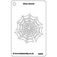 "That's Crafty Dinky Stencil 3""X4.75""-Spider Web"
