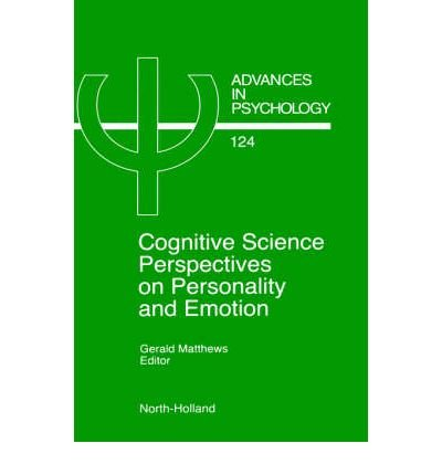 [(Cognitive Science Perspectives on Personality and Emotion)] [Author: Gerald Matthews] published on (December, 1997)
