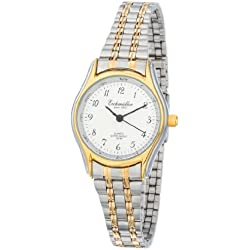 Klassische Eichmüller Uhr Edelstahl Armbanduhr Bicolor Damenuhr Miyota 2035
