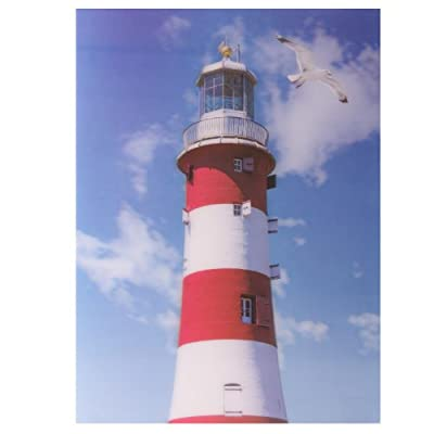 Seaside Lighthouse 3D Picture