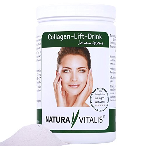 Natura Vitalis Collagen-Lift-Drink (800g) + 120 K. Hyaluronsäure MM