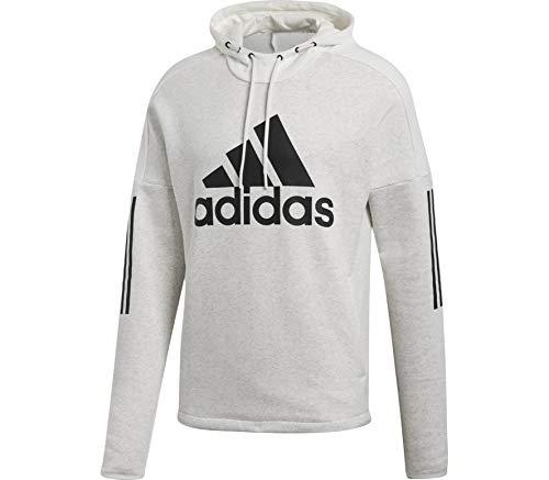 adidas Herren Sports ID Logo Po Fleece Kapuzen-Sweatshirt Melange/Off White, XL Preisvergleich