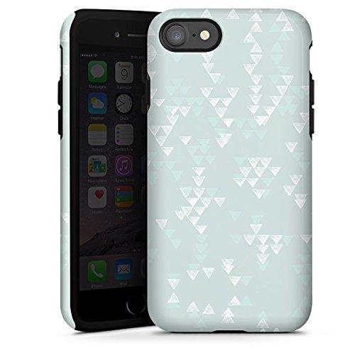 Apple iPhone X Silikon Hülle Case Schutzhülle Muster Abstrakt Grafik Tough Case glänzend