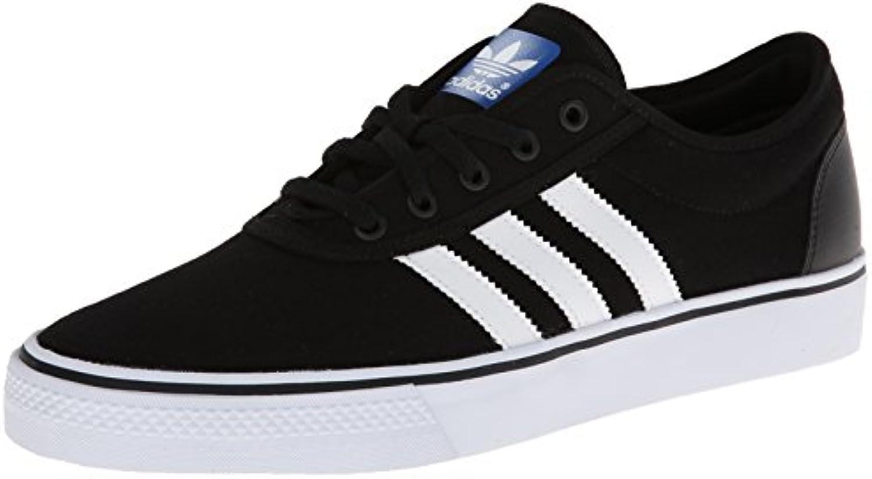 adidas originaux des hommes est est est adi facilité patiner chaussure, noir / blanc / noir, 14 m 3873eb