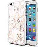 Personalised Marble Hard Phone Case Cover For Apple Samsung & Various Models (Design 10) For Apple iPhone 6/6s