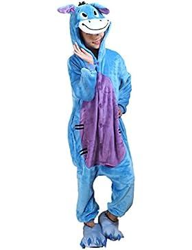 Auspicious beginning pijama de los niños del traje de Cosplay Animal Onesie Sleepsuit Ropa de dormir ropa de casa...