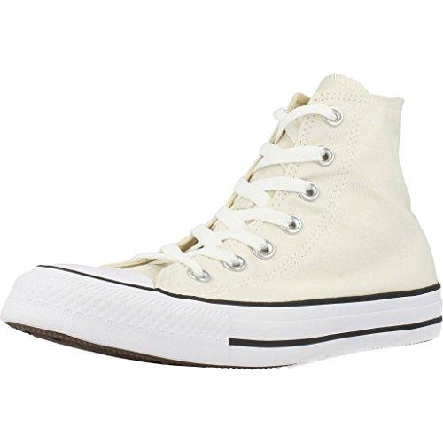 Converse All Star Chaussures En Toile Baskets Montantes (Buff - Crème) Rouge