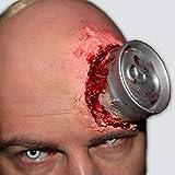 King of Halloween Psycho Cane-Halloween-solicitud Zombie-Latéx-FX-Horror- Maquillaje Conjunto