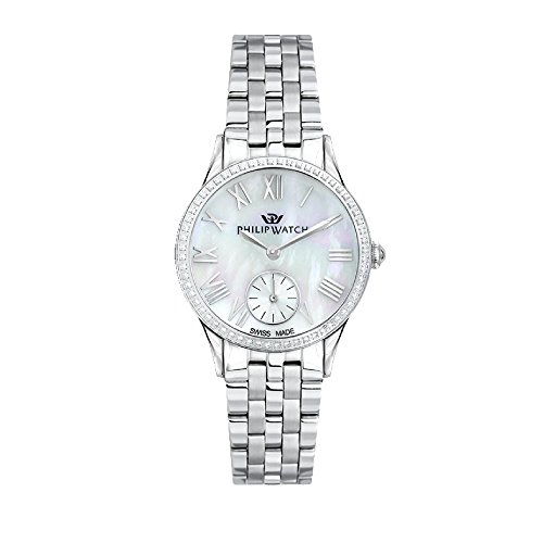 PHILIP WATCH Womens Analogue Quartz Watch with Stainless Steel Strap R8253596503