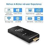 Aoxun W5 Pro Mini PC Intel Cherry Trail Computer Stick Windows 10 (64-bit)[Intel Atom x5-Z8350/2GB RAM/32GB eMMC/WiFi/USB3.0/Bluetooth/4K]