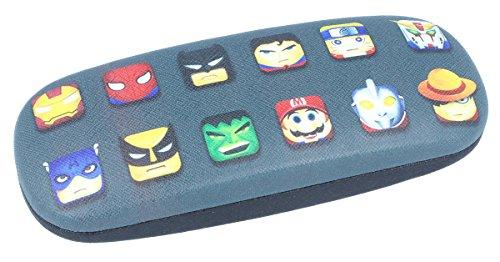 nasnefahrrad24 cooles Brillenetui für Kinder mit Superhelden