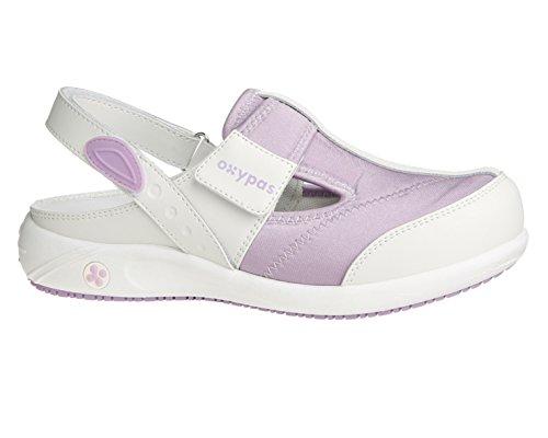 OXYPAS Anais, Chaussures de Sécurité Femme Blanc (lic)