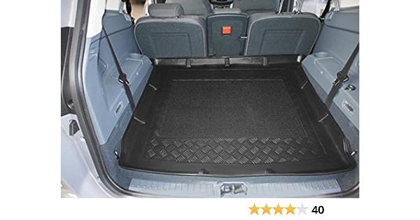Oppl 80009112 Kofferraumwanne Mit Anti Rutsch Passend Für Ford Grand C Max 7 Sitzer 11 2010 Mit Umgelegter 3 Sitzreihe Auto