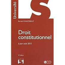 Droit constitutionnel - 32e éd.