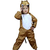 Wgwioo Niños Animales Monkey Performance Cards Colección Child Costume School Jugar Party Clothing Unisex Dance sets . 2# . 100cm