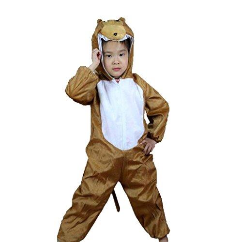 Sock Monkey Halloween (Wgwioo Kinder Tiere Monkey Performance Karten Sammlung Kinder Kostüm Schule Spiel Party Bekleidung Unisex Tanz Sets . 2# .)
