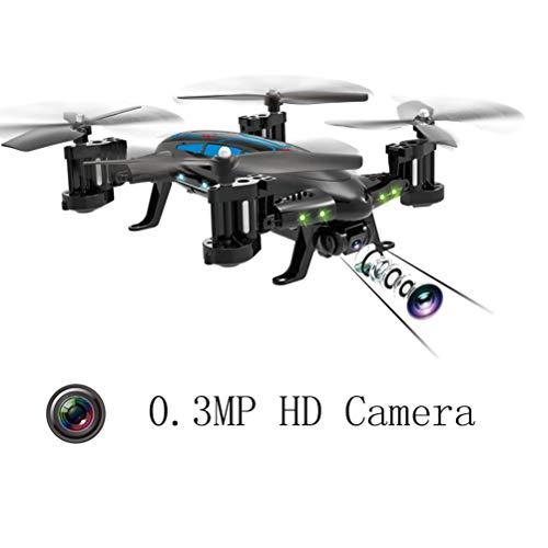 Mallalah RC Drone Voiture 2 en 1Quadricoptère Car Air-Road 2.4G Télécommandé 0.3 MP Caméra WiFi FPV Transmission en Temps Réel Volante Véhic... 7
