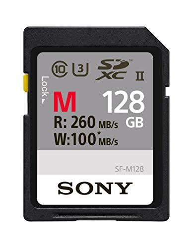 Sony SDHC-Speicherkarte, 4 GB 128 GB (Kamera Memory Sony)