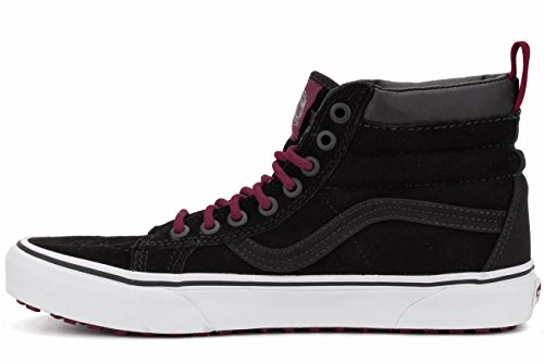 Vans SK8-Hi Mte, Baskets Basses Mixte Adulte Noir