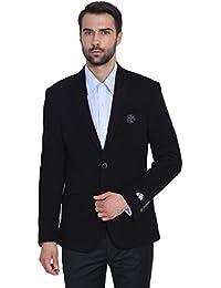 GIVO Men's Black Knit Jacket