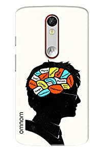 Omnam Braing Running Activities Printed Designer Back Cover Case For Motorola Moto X Force