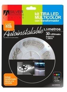 Silver 241510 Kit fascia LED multicolor 7.2W/m
