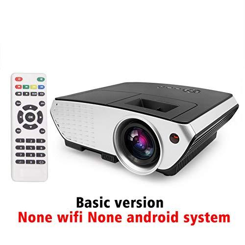 AINGOL Projektor, 2000 Lumen HD-Videoprojektor 120 '' Heimkino-LCD-Filmprojektor Unterstützung 1080P HDMI VGA AV USB Ideal für Unterhaltungs-Gesellschaftsspiele - Multiple 120 Tablets