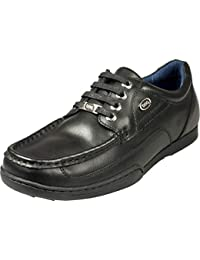 e3c72ca49 Pod Panter Mens Lace up Leather Upper Shoes Black