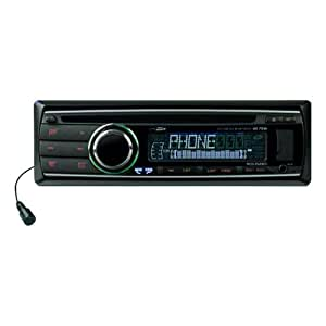 Autoradio cd usb sd avec bluetooth 4 x 75 watts