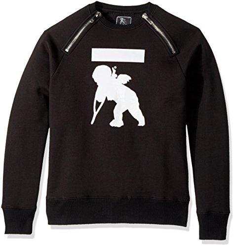 Denim Und Co (PRPS Goods & Co. Herren E79S43 Sweatshirt - Schwarz - Mittel)