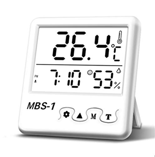 Higrometro Digital Termometro Higrometro Digital Relojes Jardin Hogar Interior Hogar Precisión Electrónica...