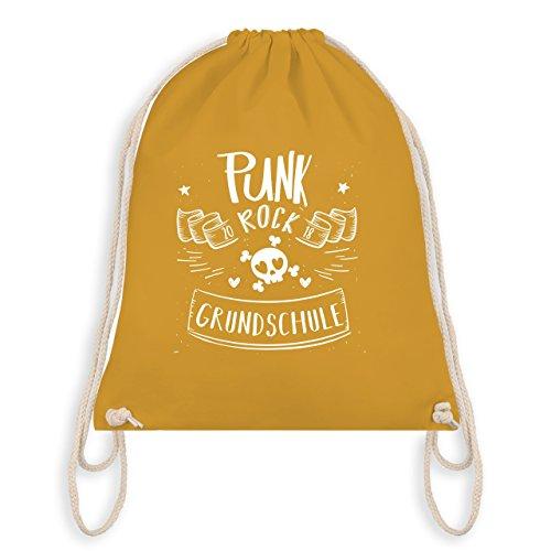 Geburtstag Kind - Punk Rock Grundschule - Unisize - Senfgelb - WM110 - Turnbeutel & Gym Bag