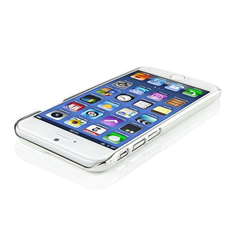 iPhone 6 Plus / 6s Plus Coque, Urcover Chrom Edition Housse Apple iPhone 6 Plus / 6s Plus Aluminium Brossé Fuchsia + Bumper Mirroir Plastique Téléphone Étui Case Or