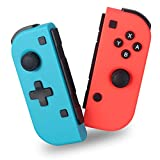 AIMOS Wireless Controller für Nintendo Switch, Kabelloser Bluetooth Gamepad Controller Game Joypad Joystick Kompatibel mit Nintendo Switch
