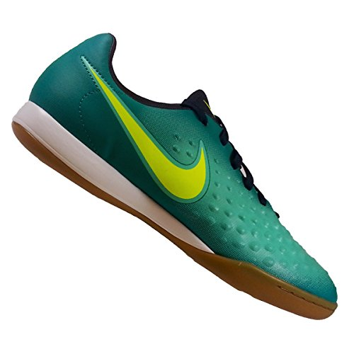 Nike Unisex-Erwachsene 844422-375 Hallenfußballschuhe RIO TEAL/VOLT/OBSIDIAN/CLEAR J