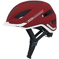 ABUS Pedelec - Casco urbano para bicicleta, color rojo, L (56-62 cms)