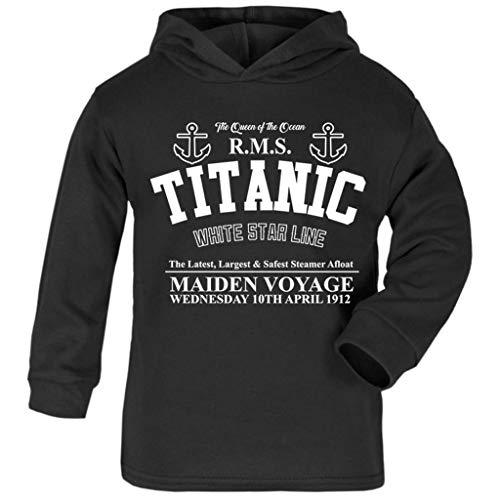 Cloud City 7 Titanic Maiden Voyage Baby and Kids Hooded Sweatshirt