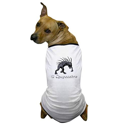 Kostüm Chupacabra - CafePress Hunde-T-Shirt, Chupacabra, Grau