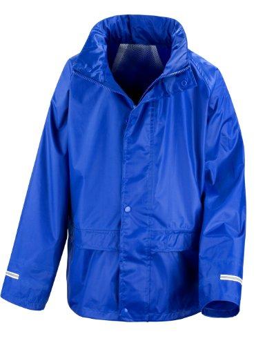 Result Core Regenanzug für Kinder (7-8-jährige) (Königsblau) 7-8 Jahre (120-128 - Sieben-jährigen