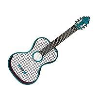 Vitale Cool Mavi Gitar Duvar Dekoru