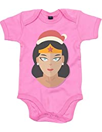 Merch Distributor Movies DC Comics Wonder Woman Style Christmas Parody Baby Grows