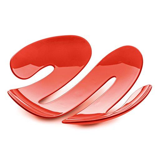 Koziol 3552633 Eve Bol : résine thermoplastique, Orange Rouge